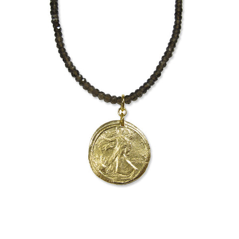 Walking Liberty Necklace