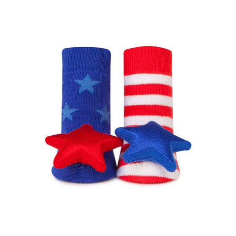 My Little Patriot Rattle Socks