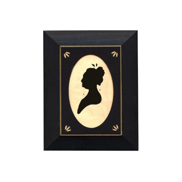 Martha Washington Silhouette Frame