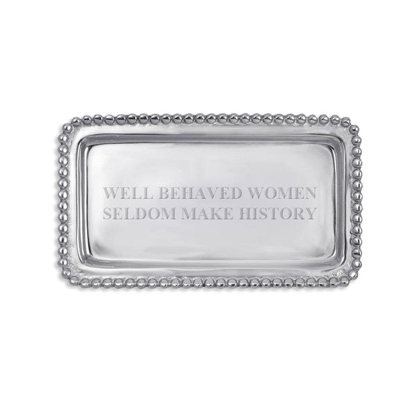 Well Behaved Women Tray