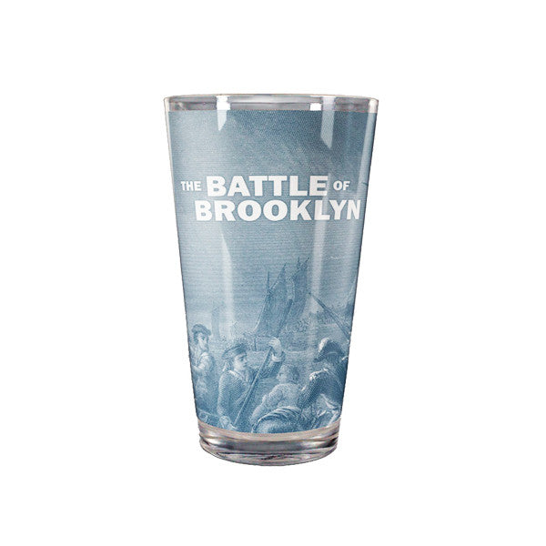 Battle of Brooklyn Pint Glass - New-York Historical Society Museum Store