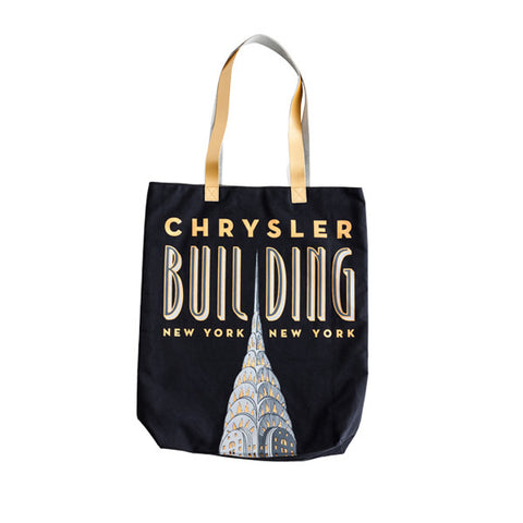 Chrysler Building Tote