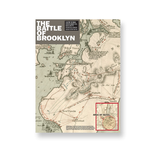 Battle of Brooklyn Poster - New-York Historical Society Museum Store