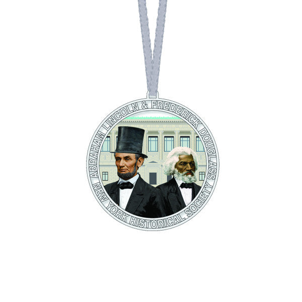 Lincoln & Douglass Ornament