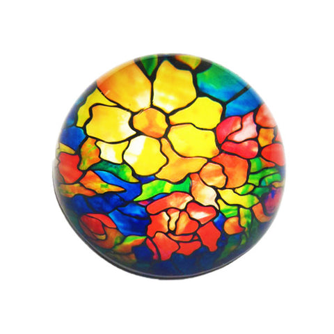 Louis C. Tiffany Peony Paperweight