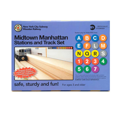 Midtown Manhattan Train Station and Track Sets