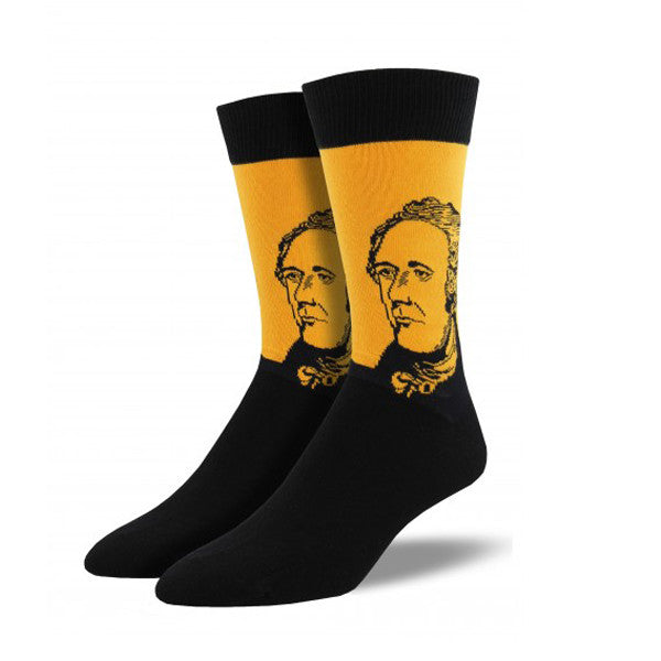 Hamilton Men's Socks Gold