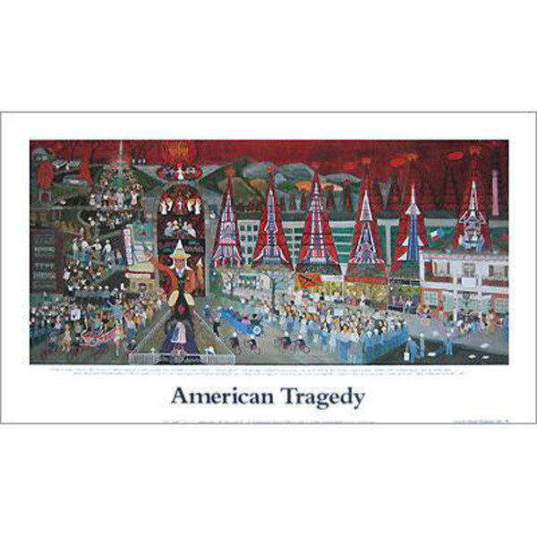 American Tragedy Poster - New-York Historical Society Museum Store