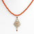 Federal Hall Balustrade Pendant Carnelian