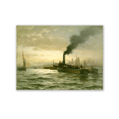 New York Harbor Canvas Print