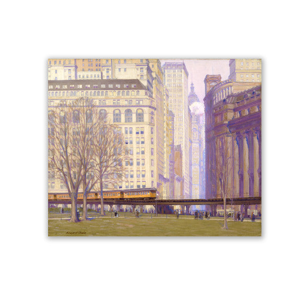 Where Broadway Begins Canvas Print