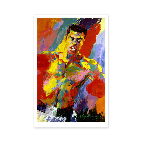 Muhammad Ali -- Athlete of the Century by Leroy Neiman (1927-2012)