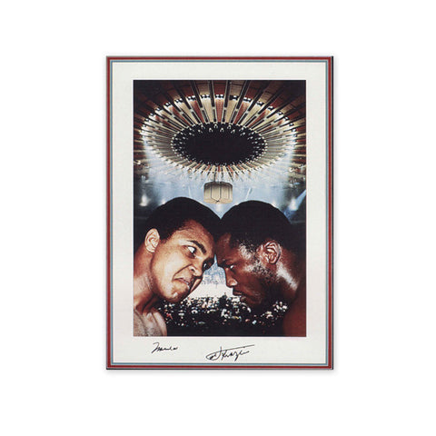 Ali & Frazier Fight Poster