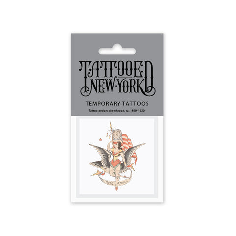 Young America Temporary Tattoo