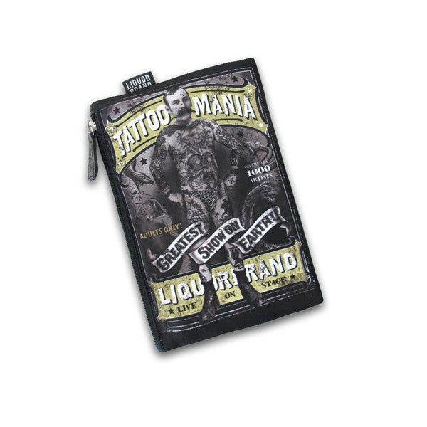 Tattoo Mania Cosmetic Bag