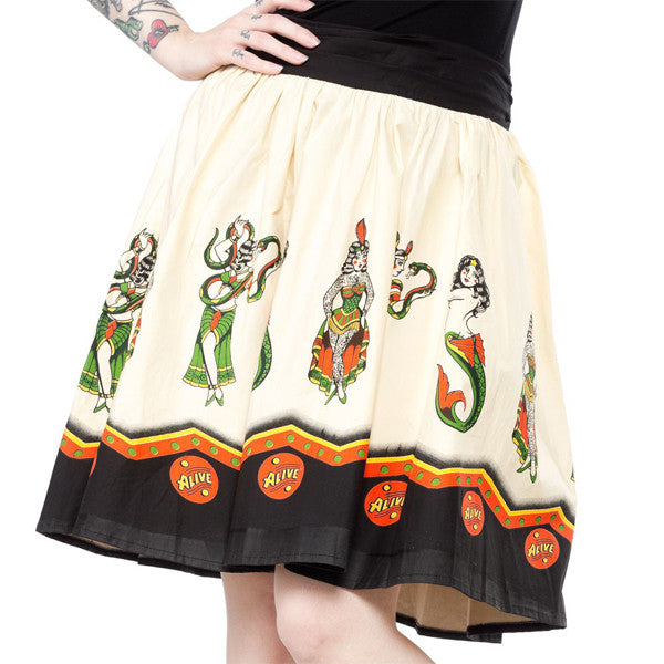 Sideshow Swing Skirt