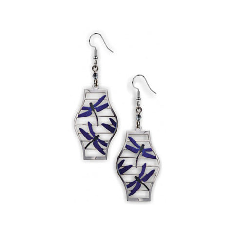 Dragonfly Lantern Earrings