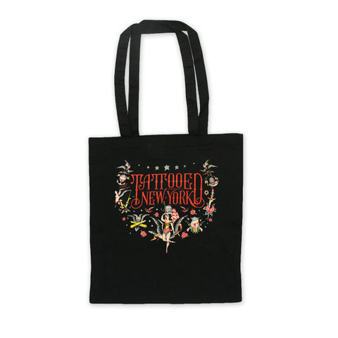 Tattooed New York Tote Bag