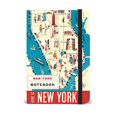 New York Map Notebook