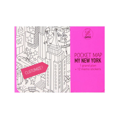 Pocket Map - My New York