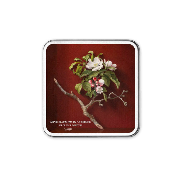 Apple Blossoms Coaster (set of 4) - New-York Historical Society Museum Store
