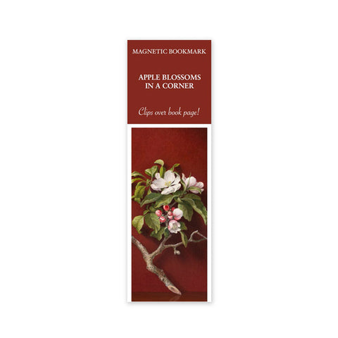 Apple Blossom Magnetic Bookmark