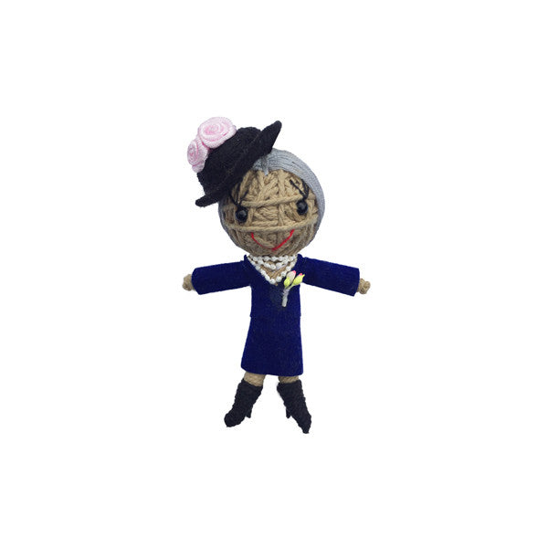 Eleanor Roosevelt String Doll