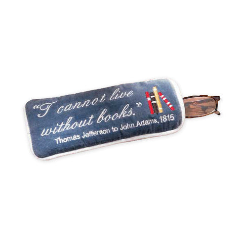 Thomas Jefferson Quote Eyeglass Case