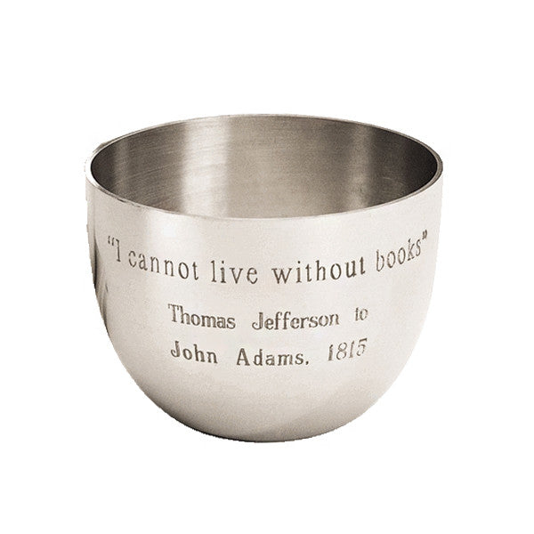 Thomas Jefferson Book Quote Cup