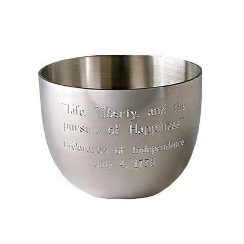 Thomas Jefferson Liberty Quote Cup