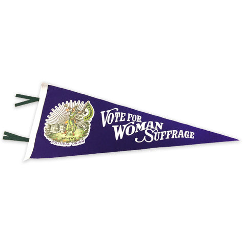 Votes for Women Suffrage Pennant