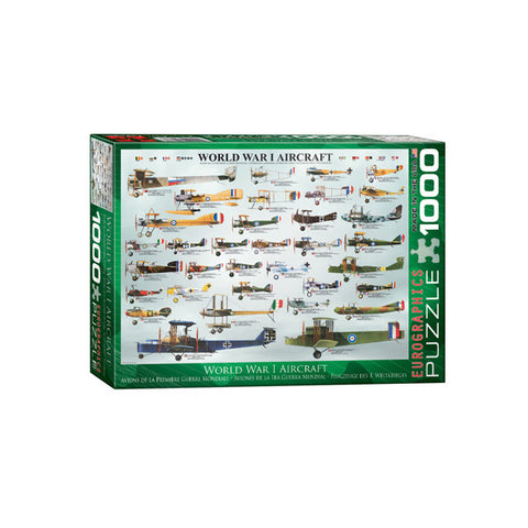 World War I Aircraft Puzzle
