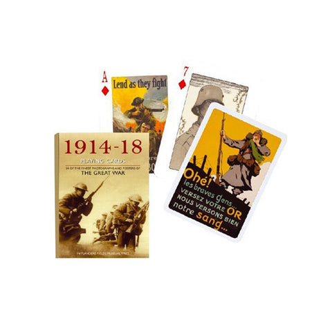 1914-1918 WWI Playing Cards