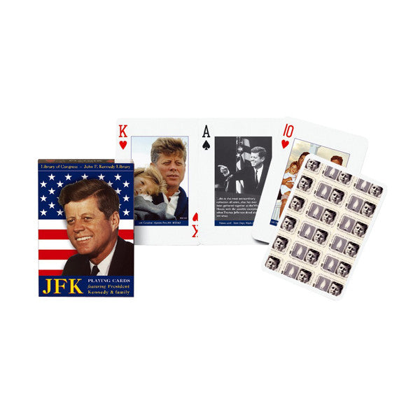President John F Kennedy JFK Playing Cards Single Deck