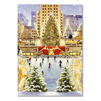 Rockefeller Center Tree Box Card