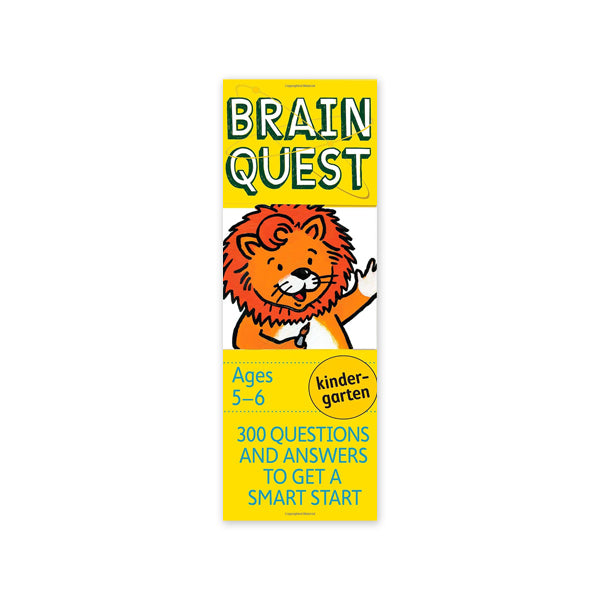 Brain Quest: Kindergarten - New-York Historical Society Museum Store