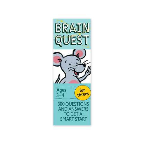 Brain Quest: For Threes