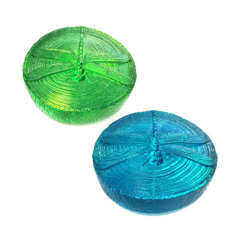 Dragonfly Glass Paperweight
