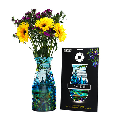 Louis C. Tiffany Iris Vase