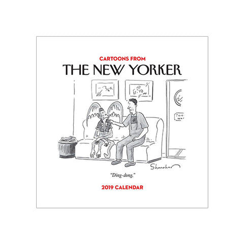 2019 New Yorker Cartoons Desk Calendar
