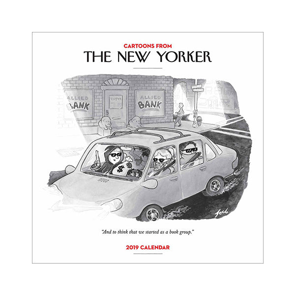 2019 New Yorker Cartoons Wall Calendar
