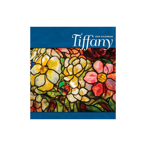 2019 Louis C. Tiffany Wall Calendar