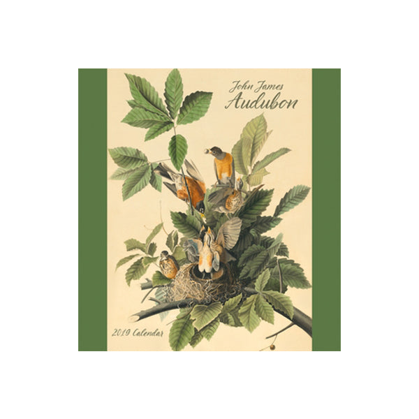 2019 Mini Audubon Wall Calendar