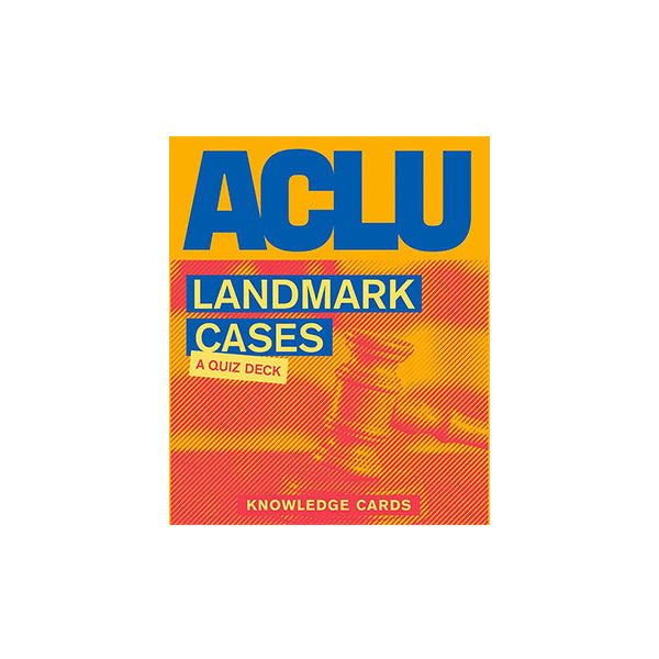 ACLU Landmark Cases: A Quiz Deck - New-York Historical Society Museum Store