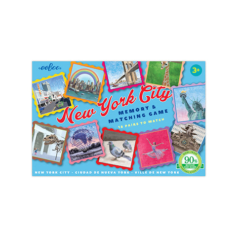 New York City matching card game