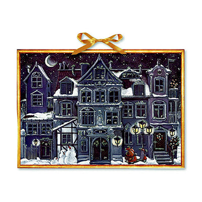 Christmas House at Night Advent Calendar