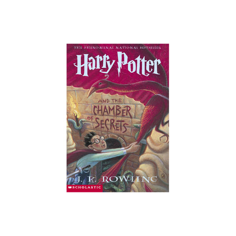 Harry Potter and the Chamber of Secrets -- Paperback