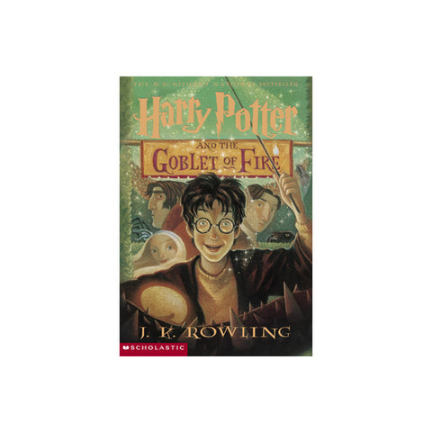 Harry Potter and the Goblet of Fire - Paperback