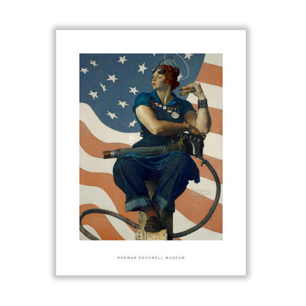 Rosie the Riveter Matte Print
