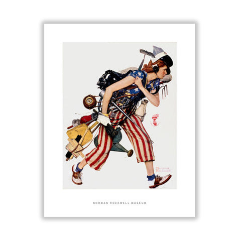 Liberty Girl Matted Print